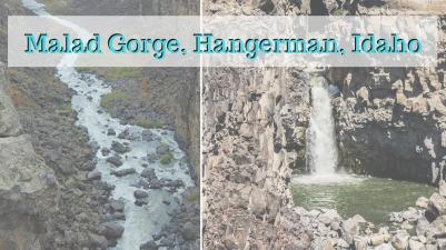 Malad Gorge, Hangerman, Idaho