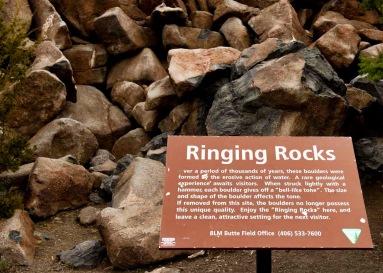 Ringing Rocks, near Butte